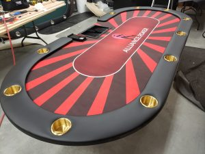 High Quality Poker Tables in Conroe, Texas