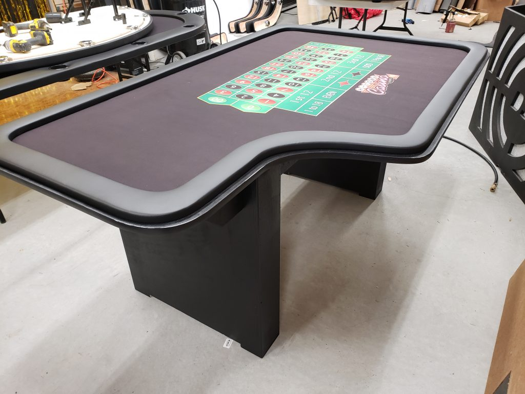 Roulette Tables Made in USA