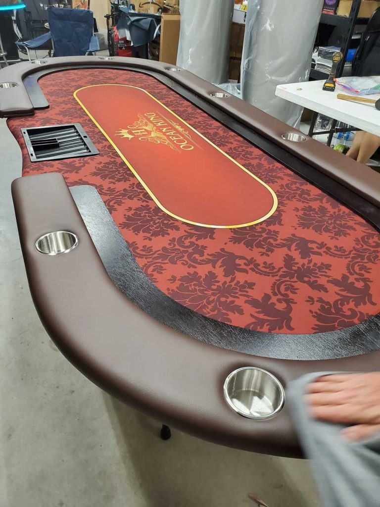Houston Poker Tables Made to Order Gaming Tables