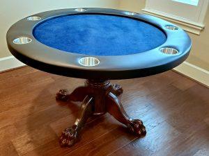 Custom Made Poker Table in Conroe