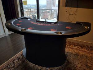 Custom Blackjack Tables by Houston Gaming Tables