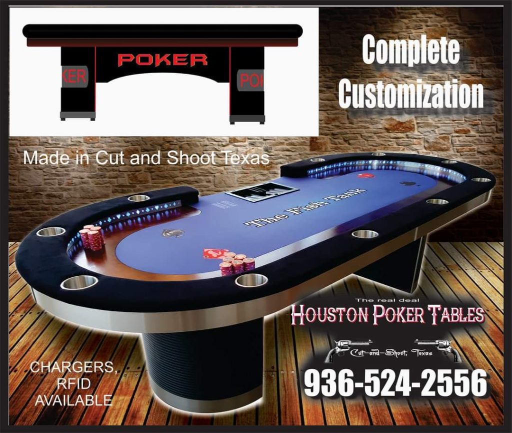The Best Poker Tables in Conroe