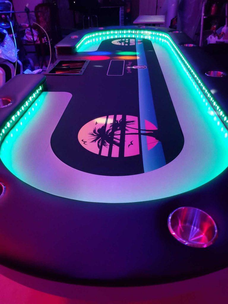 Houston Poker Tables Custom Gaming Tables